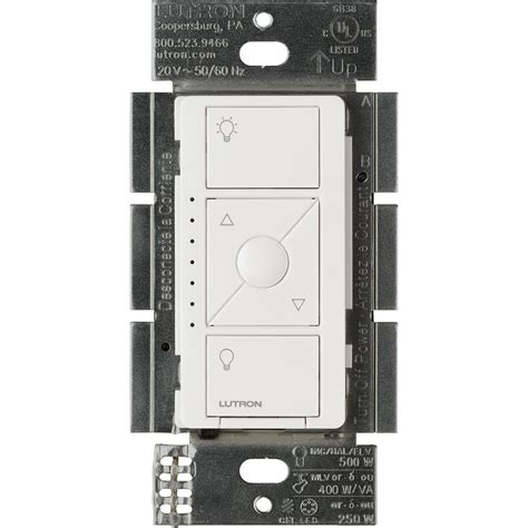 lutron plug in l dimmer lutron diva c l dimmer for dimmable led halogen and