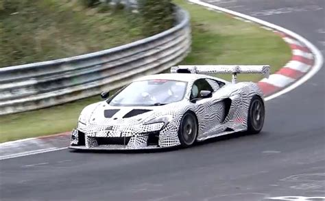 prototype f1 racy mclaren prototype spotted at nurburgring foundations