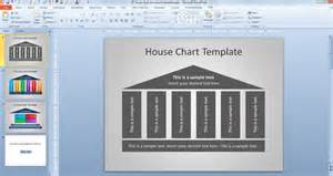 free house chart template for powerpoint powerpoint