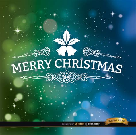 merry christmas wallpaper vector merry christmas lettering on color background vector