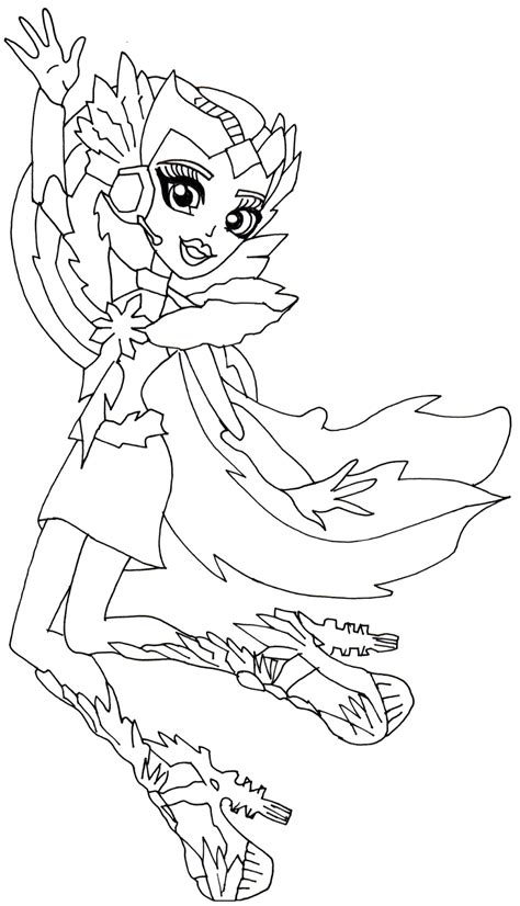Monster High Coloring Pages Astranova | free printable monster high coloring pages astranova