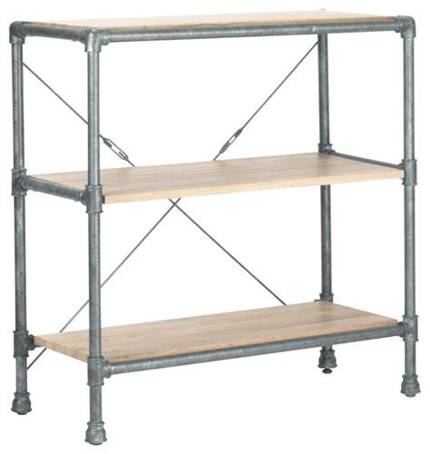 industrial bookshelf griffin bookshelf industrial bookcases by 5 horizons