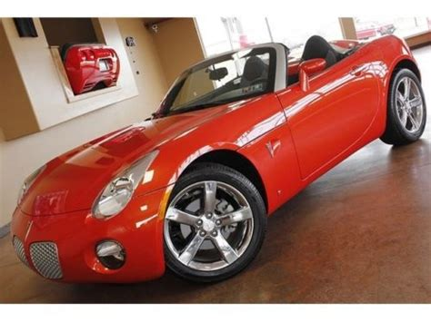 car repair manual download 2009 pontiac solstice auto manual buy used 2009 pontiac solstice 5 speed manual 2 door convertible in north canton ohio united
