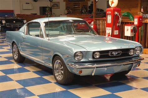ford mustang light blue 1966 ford mustang gt fastback light blue a e classic cars