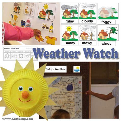 kindergarten themes weather preschool weather activities and crafts kidssoup