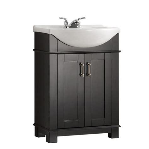 49x22 bathroom vanity top fresca hudson 24 in w traditional bathroom vanity in black with ceramic vanity top in white