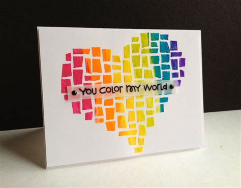 how to make a awesome birthday card i m in less is more happy third birthday with a