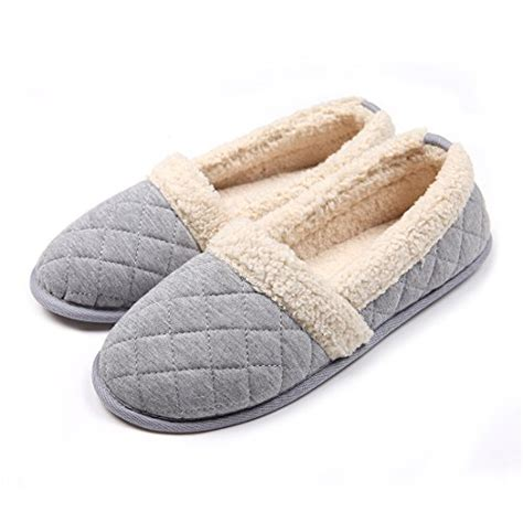 best womens house slippers chicnchic plush house slippers non slip