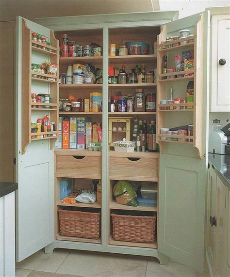 Free Standing Kitchen Pantry Cabinet Plans Build A Freestanding Pantry Diy Projects For Everyone