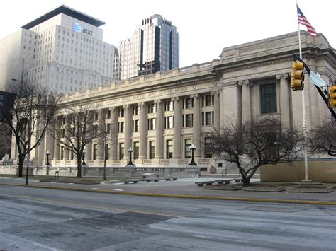 Post Office Downtown Indianapolis by File Birch Bayh U S Courthouse And Post Office Jpg