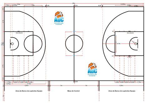 cuanto cuanto mide la cancha de basquetbol medidas de la cancha de basquet tattoo design bild