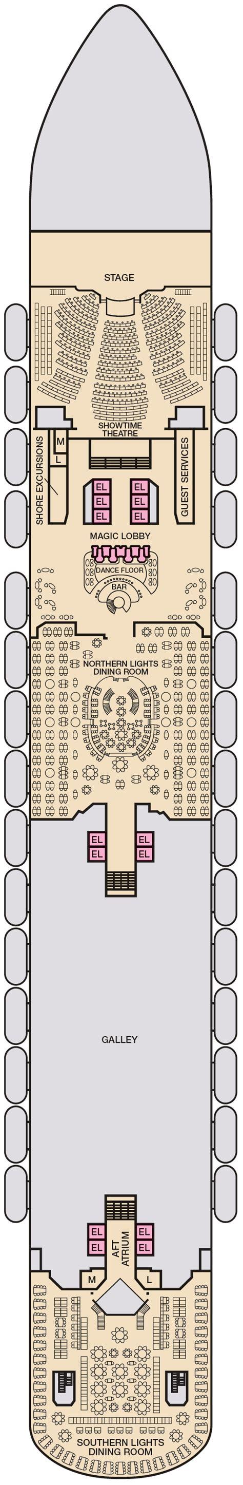 carnival magic deck 9 interior stateroom floor plans carnival magic deck plans