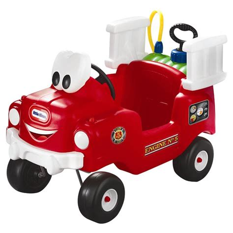 little tikes fire truck bed little tikes spray and rescue push fire truck reviews