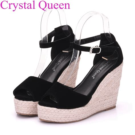 Wedges Sendal Marni Mirror Quality superior quality summer style comfortable bohemia platform wedges sandals for shoes high