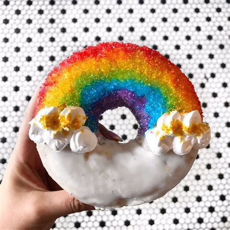 Rainbow Donut rainbow donut yelp