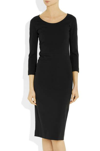 Friday Afternoon Dresses From Net A Porter by The Row Millis Stretch Jersey Dress Net A Porter