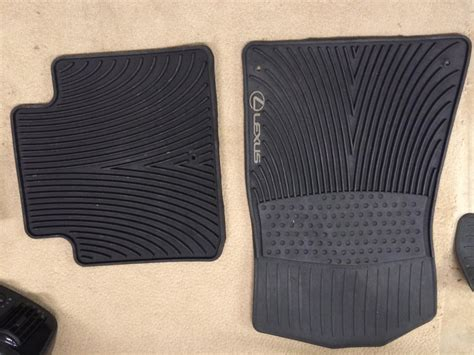 va oem lexus all season floor mats club lexus forums