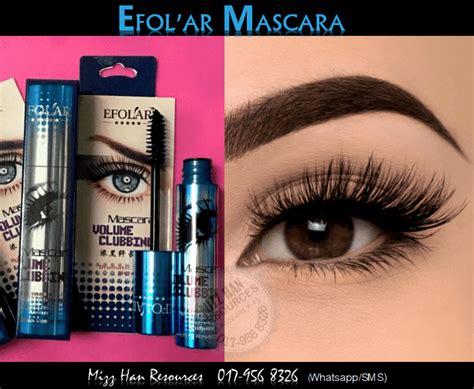 Maskara Efolar efolar mascara mhr stokis produk kecantikan