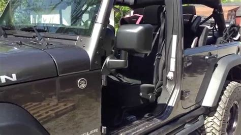 doorless jeep mirrors aftermarket dietech offroad jeep jk relocation brackets