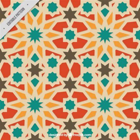 colors islamic mosaic vector premium download colors arabian geometric pattern vector premium download