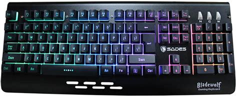 Rexus K9 Tkl Fortress Gaming Keyboard Anti Ghosting Tenkeyless sentra computer we it