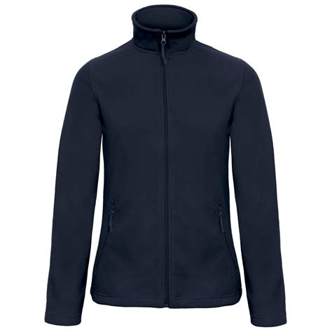 Jaket Jaket Fleece Jaket 501 Navy b c collection womens id 501 microfleece fleece casual zip up jacket ebay