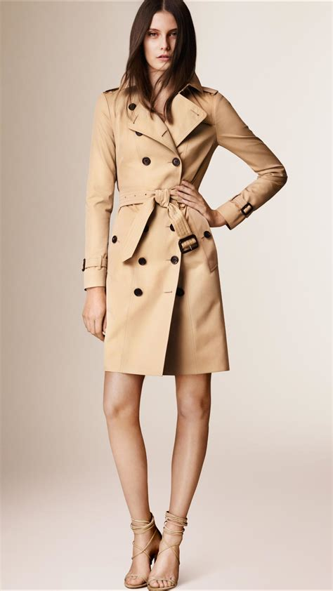 Heritage By Burberry by Burberry The Sandringham Heritage Trench Coat In