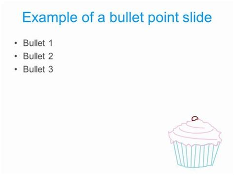 Cupcake Powerpoint Template Cupcake Powerpoint Template
