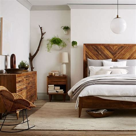 Wooden Bedroom Design Best 25 West Elm Bedroom Ideas On Mid Century