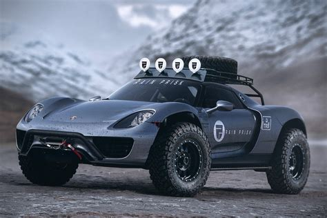 off road porsche porsche 918 spyder off road edition hiconsumption