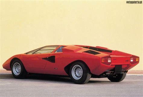 1973 Lamborghini Countach Lamborghini Countach Lp 400 1973