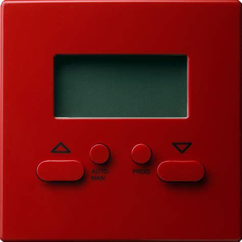 jalousie rot gira 084143 aufsatz elektronische jalousiesteuerung easy