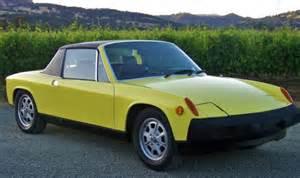 porsche 914 yellow 1975 porsche 914 2 0 litre 5 speed in yellow matching