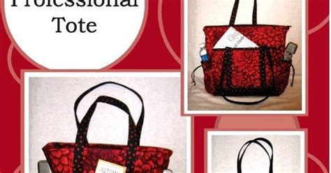 tote bag pattern with outside pockets professional tote bag pattern pockets inside and outside