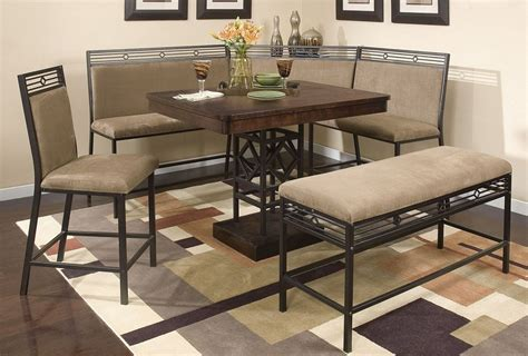 breakfast nook table set beyond belief on home furniture