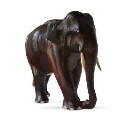 Home Decor Showpieces buy rosewood carved elephant showpiece