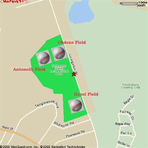 30 baseball league directions to tewksbury fields
