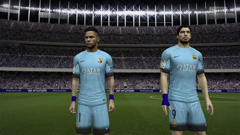 Bahan Ny Barcelona Away 17 18 fifa 15 kits archives fifa patch
