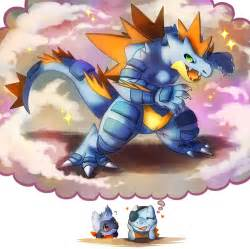 Mega feraligatr by haychel on deviantart