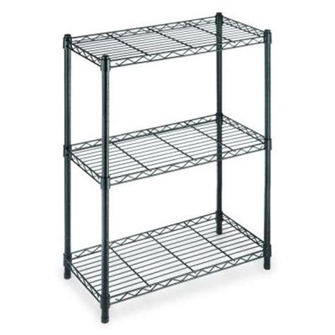 hdx 3 shelf steel shelving unit in black eh wsthdus 006b