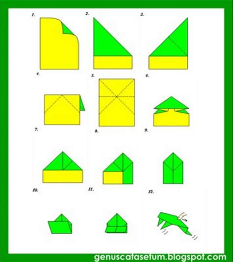 Katak Origami - gc katak oh katak bhg 2