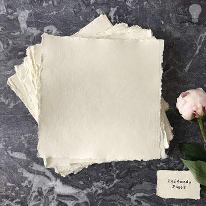 Handmade Paper Uk Suppliers - handmade card white square 20cm x 20cm imagine diy
