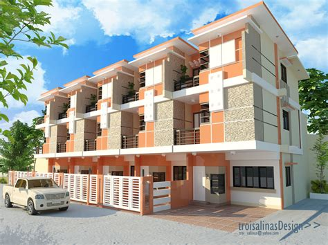 3 storey apartment design philippines modern house
