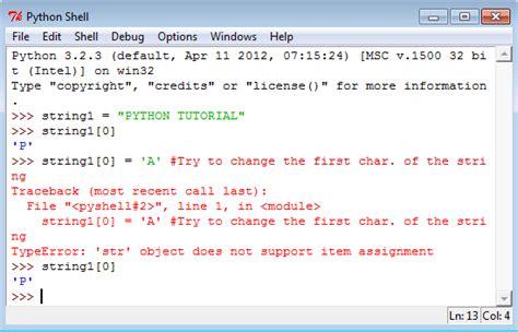 tutorial python slice python data type w3resource