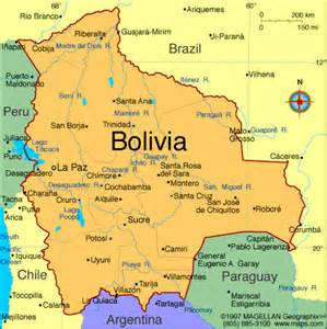 Bolivia World Map by Flickr Photo Sharing