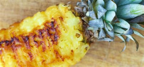Bbq Grilled Whole Pineapple