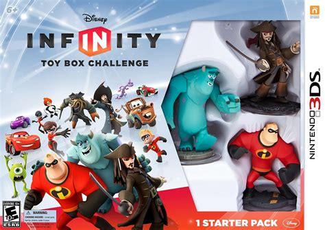 disney toys fan challenges disney infinity box challenge nintendo 3ds ign