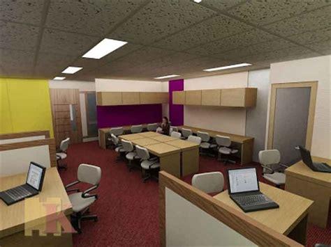 Layout Ruang Kerja Kantor | desain layout ruang kerja berdasarkan zona desain