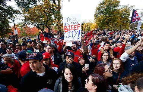 boston sox fans boston sox victory parade