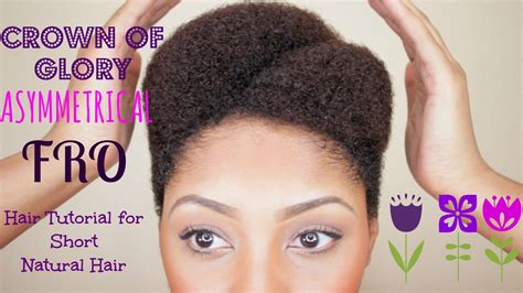 Hairstyles For Hair Black Tutorials by Asymmetrical Afro Tutorial For Hair